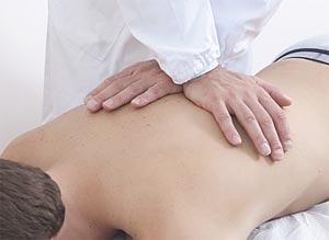 Terapia manuale della colonna