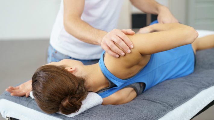 Stretching muscolare assistito