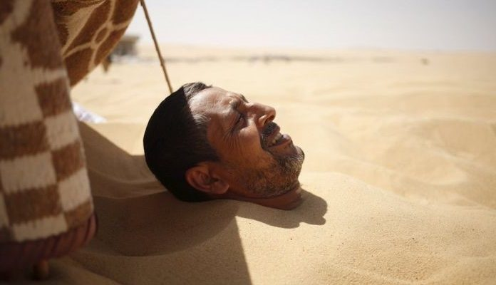 Come curare la sabbia nel collo?