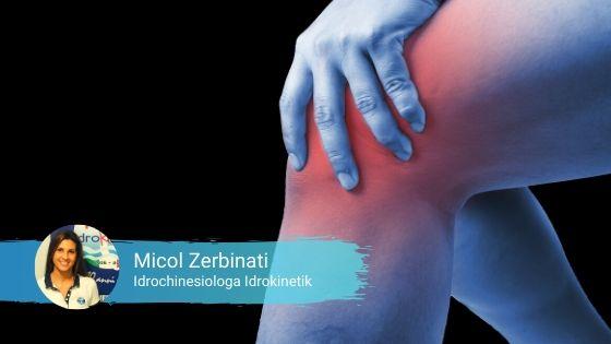 Idrokinesiterapia per la riabilitazione del ginocchio