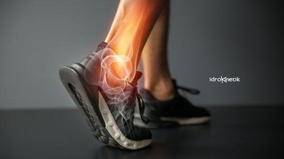 Riabilitazione nella distorsione della caviglia